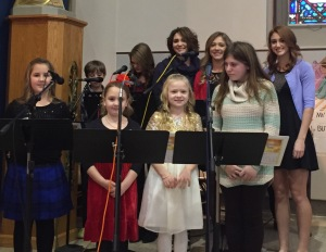 Youth Choir at St. Joseph