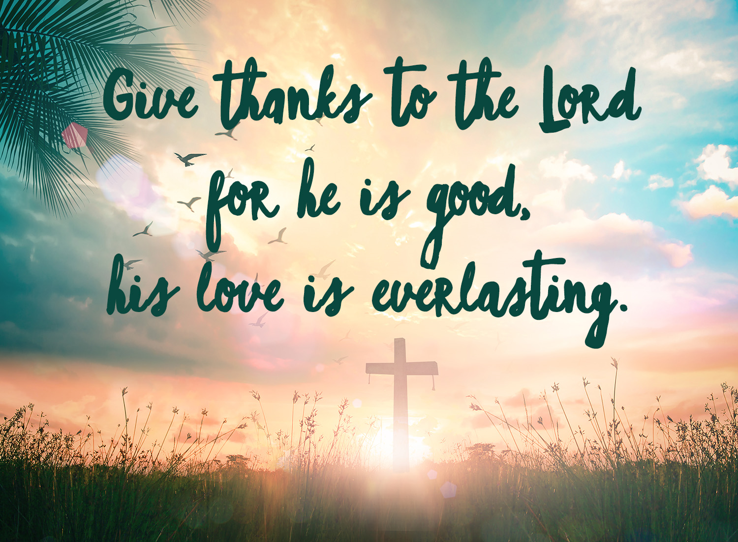 give thanks cross